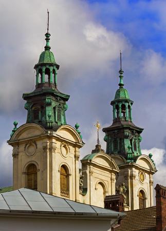 lvov: Organ and music hall in Lvov, Ukraine