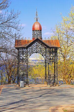 summerhouse: Famous summer house at the park of Vladimir in Kiev