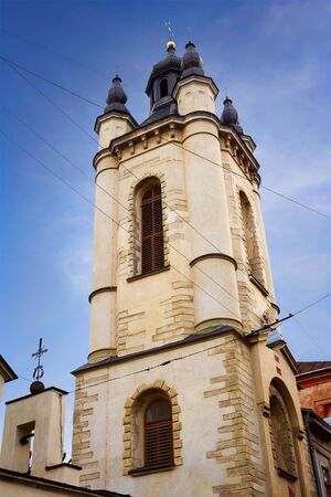 Armenian church in the center of Lviv, Ukraine. One of he most interesting touristic places of the city.