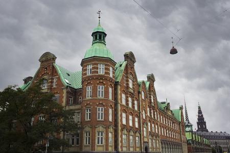 Building of Confederation of Danish Enterprise (Dansk Erhverv) in COpenhagen, Denmark. Stock Photo
