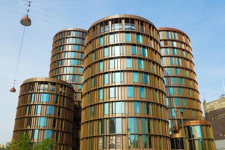 Copenhagen, Denmark - 30 September, 2017: Axel Towers, designed by Lundgaard and Tranberg Editorial