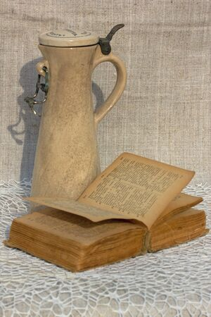 pitcher: pitcher and book
