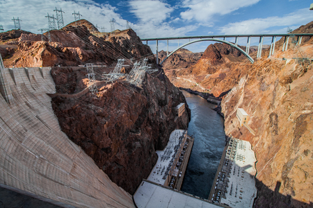 Dam Looking West at the Bridge