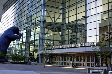 Denver Convention Center Entrance Close Up