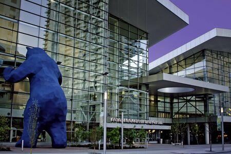 Early Morning Denver Convention Center Entrance