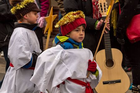 candes: 2012 Georgetown Christmas Market and Santa Lucia Childrens Procession2012 Georgetown Christmas Market and Santa Lucia Childrens Procession