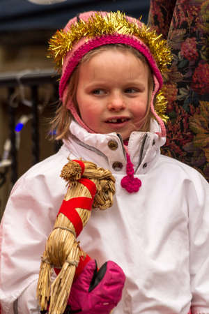 2012 Georgetown Christmas Market and Santa Lucia Childrens Procession Stock Photo - 16944025