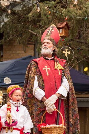 2012 Georgetown Christmas Market and Santa Lucia Childrens Procession Stock Photo - 16961706
