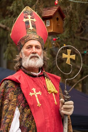2012 Georgetown Christmas Market and Santa Lucia Childrens Procession Stock Photo - 16961709