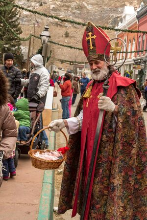 2012 Georgetown Christmas Market and Santa Lucia Childrens Procession Stock Photo - 16745817