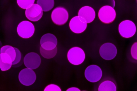 Sparkling pink and purple lights bokeh Stock Photo
