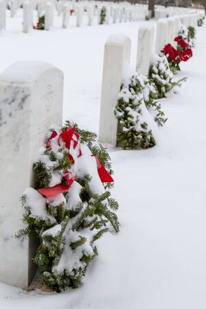 2012 Wreaths Across America at Fort Logan National Cemetery Colorado