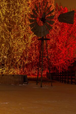 denver botanical gardens: 2012 Denver Botanical Gardens Trail of Lights Christmas light display at Chatfield