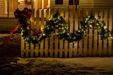 2012 Denver Botanical Gardens Trail of Lights Christmas light display at Chatfield Stock Photo - 17523534