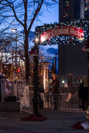 Entrance to the Denver Christkindl Market  Stock Photo - 17523594