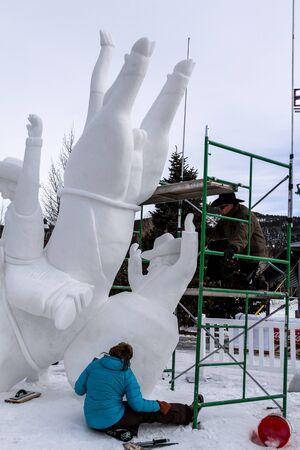 budweiser: 2013 Budweiser International Snow Sculpture Championship in Breckenridge, Colorado