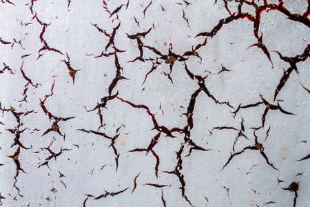 scratched: Red and black metallic texture with rust for backgrounds