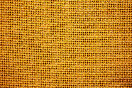 Natural fabric for embroidery (yellow) photo