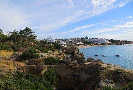near: Relief coast near Albufeira   (Albufeira, Portugal)