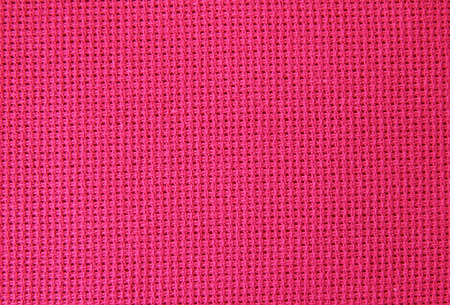 Natural linen fabric for embroidery red photo