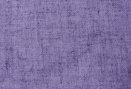 Natural linen fabric for embroidery (photo is toned in ultra violet) Archivio Fotografico - 96052622