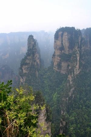 Bergen van Zhangjiajie, provincie Hunan, China