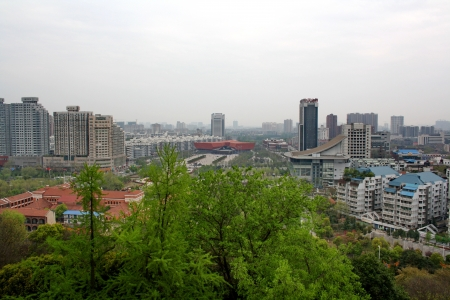 Wuhan city. Province of Hunan. China.