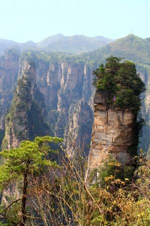 Zhangjiajie ancient mountains
