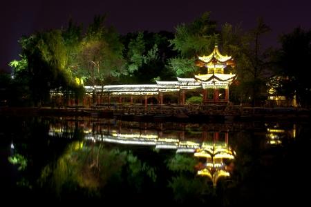 kunming: Chinese pagoda  Kunming  China  Stock Photo