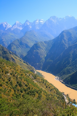 Tiger Leaping Gorge Tibet China