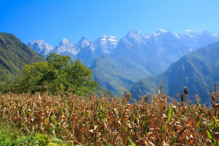 Tiger leaping gorge  Tibet  China  Stock Photo