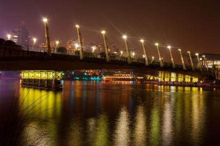 The Bridge Grote gracht Hangzhou China Stockfoto