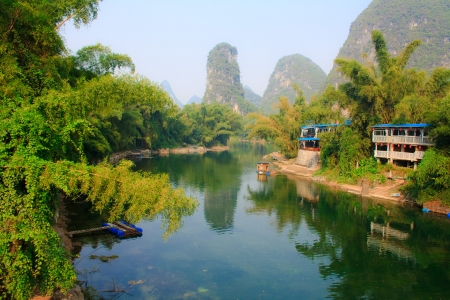 Landscape of Yangshuo  China
