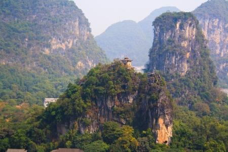 Landscape of Yangshuo  China  Stock Photo