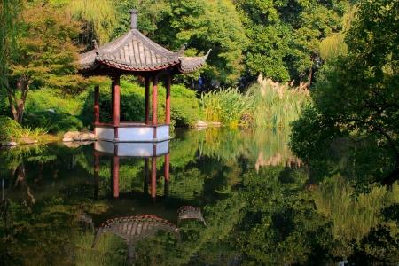 Landscape of West lake  Hangzhou  China  Stock Photo