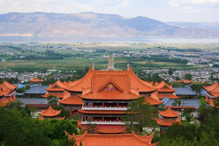 Landschap van Dali Yunnan provincie van China