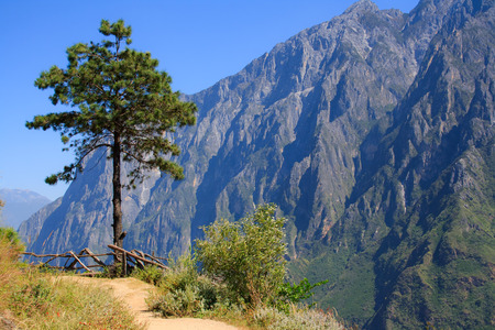 Scenery of Tiger Leaping Gorge  Tibet  China