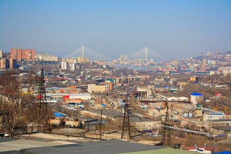 Landschap van Vladivostok