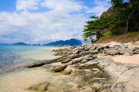 palawan: Paisaje de El Nido Palawan Island Filipinas