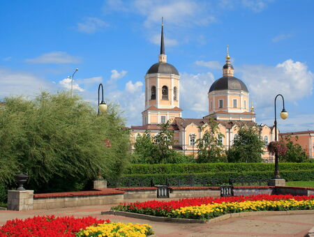 Landscape of Tomsk city  Russia