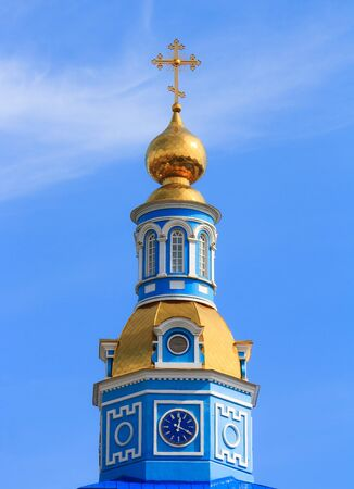 The dome of the Christian Orthodox churches