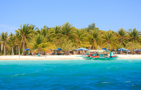 coron: Landscape of tropical island. Coron island. Philippines.