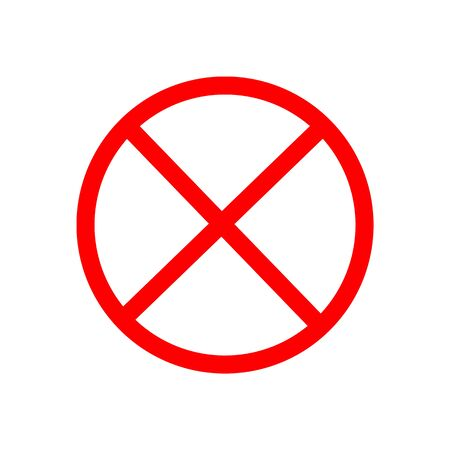 Dangerous symbol.Vector illustrator.The attention icon Illustration