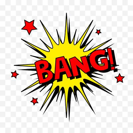 Comic speech bubbles or sound replicas.Vector cartoon explosions with different emotions.