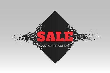 Sale tag. Vector badge. Cheap price flyer, best offer price and big sale pricing tag badge design.  Labels for design banners and flyers.  イラスト・ベクター素材