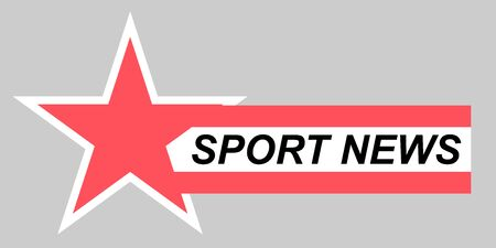 Video headline title or television news bar design template. Lower Third TV News Bars Set Vector. Television broadcast media title banner.Streaming Video News Sign. Breaking, Sport News.  イラスト・ベクター素材