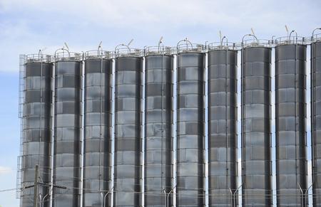 silo: Petrochemical silo