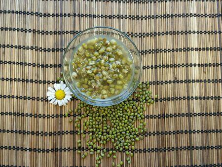 green bean: Green bean in syrub