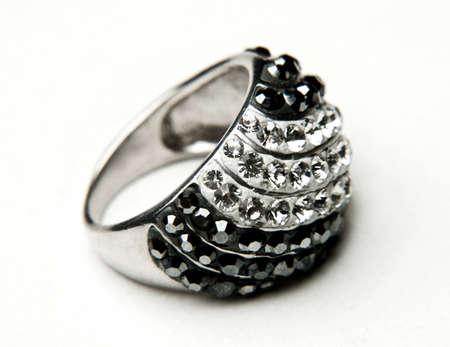 platinum wedding ring: Ring Stock Photo