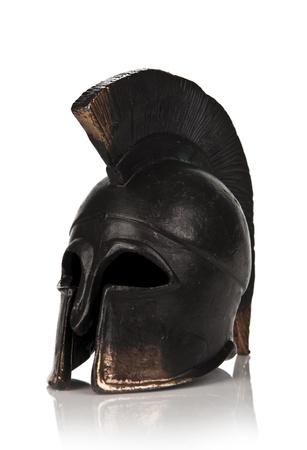 Spartan Helmet Stock Photo